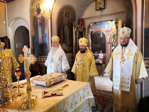 Петровдан - Крсна слава Подворја СПЦ у Москви (12.07.2020)