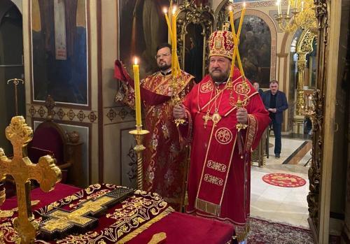 Бденије уочи празника Изношења Часног Крста (13.08.2020)