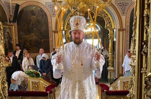 Празник Преображења Господњег на Подворју СПЦ у Москви (19.08.2020)