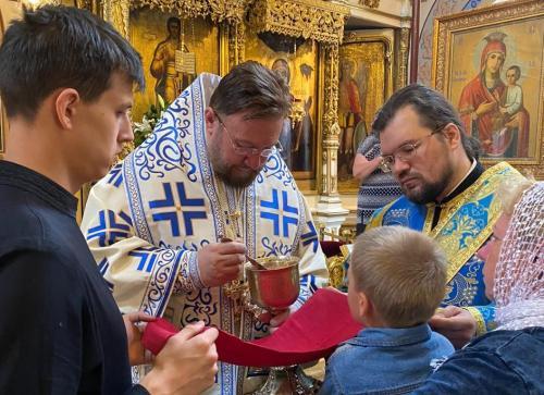 Света Литругија у дванаесту недељу по Педесетници (30.08.2020)