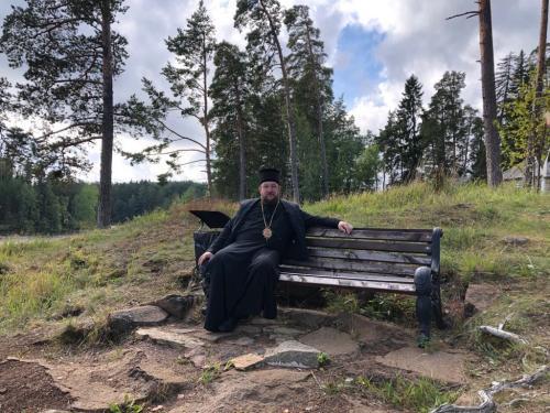 Епископ моравички Антоније у посети манастиру Валам (04-06.09.2020)