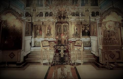 Бденије уочи празника Изножења Часног Крста (13.08.2021)