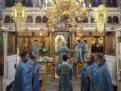 Мала Госпојина у Подворју СПЦ у Москви (21.09.2021)