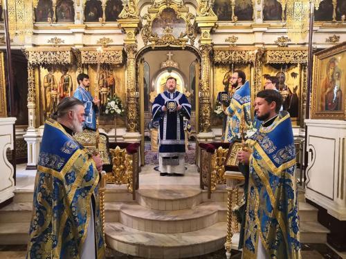 Празник Ваведења Пресвете Богородице на Подворју СПЦ у Москви (04.12.2019)
