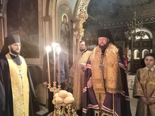 Бденије уочи празника Светог Николаја Чудотворца (18.12.2019)