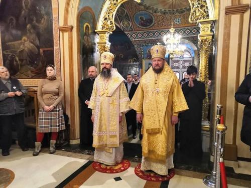Празник Светог Саве на Подворју СПЦ у Москви (27.01.2020)