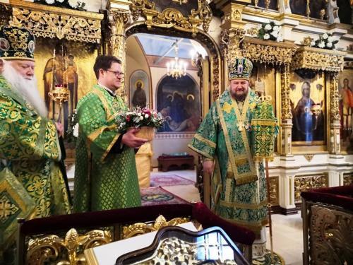 Празник Преподобног Антонија Великог - имендан Епископа Антонија (30.01.2020)