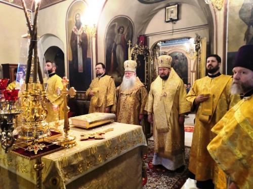 Света Литургија у 33. недељу по Педесетници (02.02.2020)