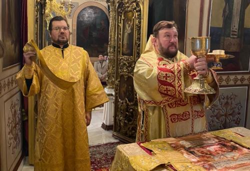 Света Литургија у недељу 01. новембра 2020. године