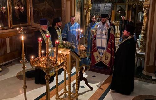 Бденије уочи празника Казанске иконе Пресвете Богородице (03.11.2020)