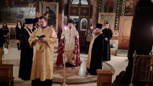 Свети Димитрије Солунски - бденије (07.11.2020)