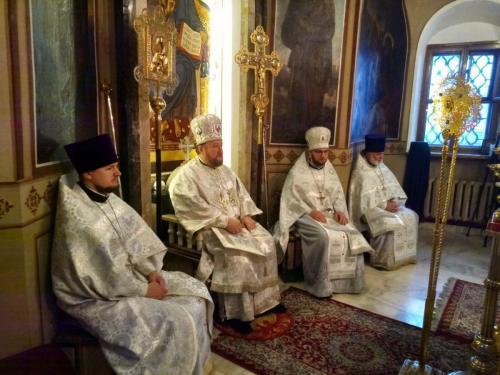 Аранђеловдан на Подворју СПЦ у Москви (21.11.2020)