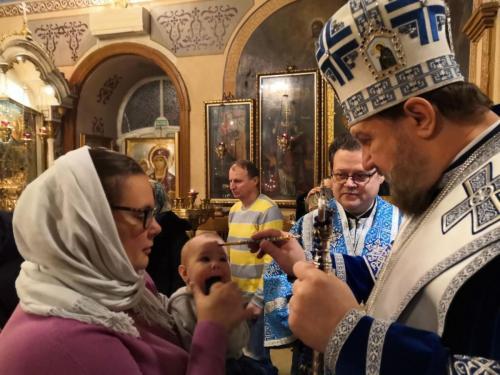 Бденије уочи празника Ваведења Пресвете Богородице (03.12.2020)