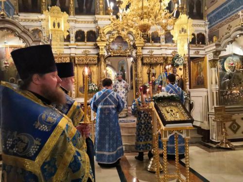 Бденије уочи празника Знаменија Пресвете Богородице (09.12.2020)