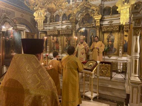 Бденије уочи празника Светог Николаја Чудотворца (18.12.2020)
