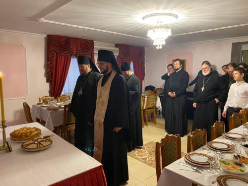 Празник Светог Николаја - Крсна слава Епископа Антонија (19.12.2020)