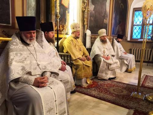 Литургија на празник Светог архиђакона Стефана (09.01.2021)