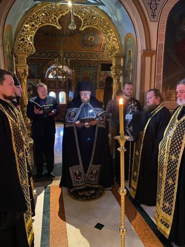 Богослужења Прве седмице Великог поста (15-19.03.2021)