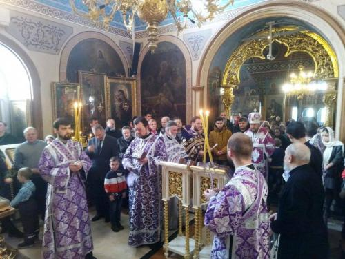 Недеља Православља на Подворју СПЦ у Москви (21.03.2021)