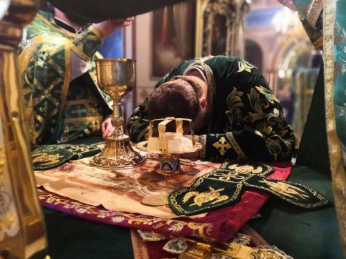 Празник Цвети у Подворју СПЦ у Москви (25.04.2021)