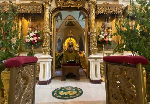 Празник Педесетнице у Подворју СПЦ у Москви (20.06.2021)