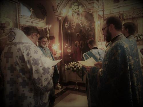 Бденије уочи празника Богољубске иконе Пресвете Богородице (30.06.2021)