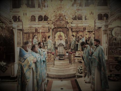 Празник Богољубске иконе Пресвете Богородице (01.07.2021)