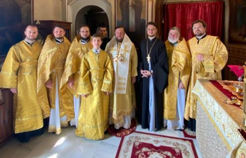 Света Литургија на 15-годишњицу архијерејске хиротоније (23.07.2021)