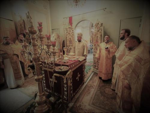 Света Литургија у Чешком подворју у Москви (01.08.2021)