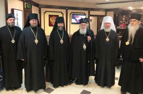Делегација СПЦ допутовала у Москву (28.01.2019)