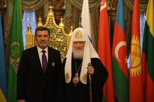 Додела ордена амбасадору Славенку Терзићу (17.03.2019)