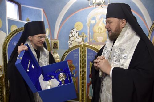 Освећење храма Светог Саве у Белорусији (25.01.2020)