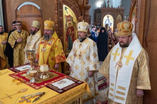 Света архијерејска Литургија (22.10.2020)