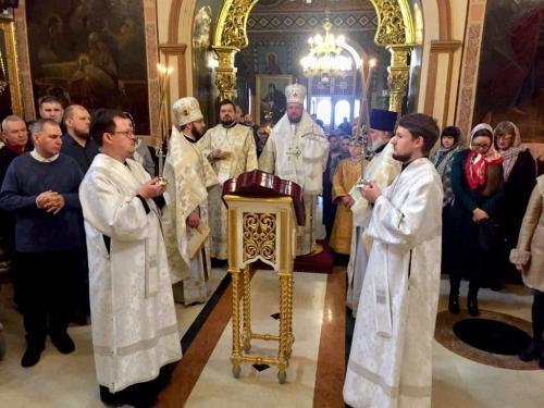 Света Литургија у недељу 13. јануара 2019. године