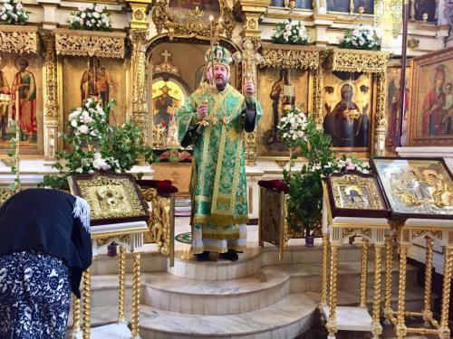 Празник Педесетнице на Подворју СПЦ (27.05.2018)