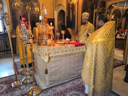 Света Литургија у 4-ту Недељу по Педесетници (14.07.2019)