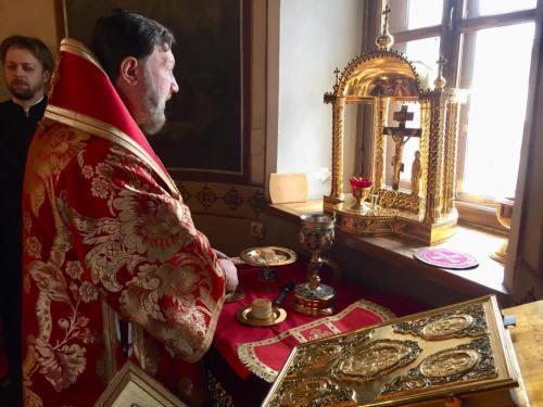 Света Литургија у четвртак Светле седмице (02.05.2019)