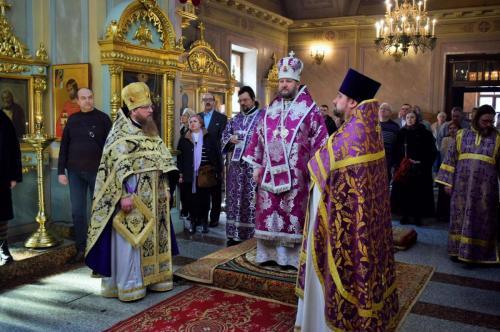 Литургија на Чешком подворју у Москви (17.03.2018)