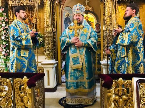 Празник чудотворне иконе Пресвете Богородице Тројеручице (11.07.2019)