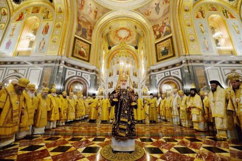 Патријарашка Литургија у Храму Христа Спаситеља (01.02.2019)