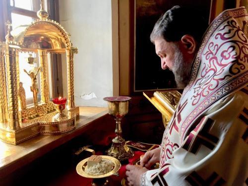 Света Литургија у Шесту недељу по Васкрсу - о Слепом (02.06.2019)