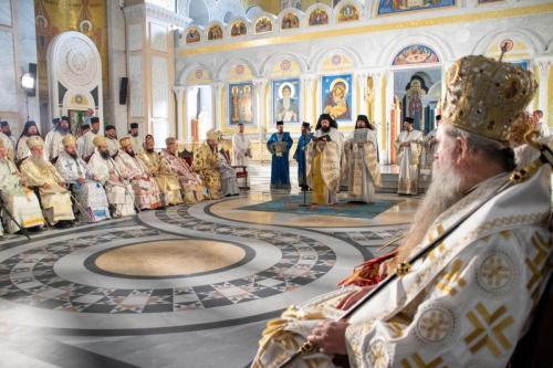 Хиротонија Епископа марчанског Саве (03.10.2021)