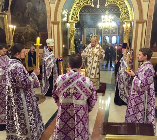 Бденије на навечерје Недеље Св. Григорија Паламе (24.02.2018)