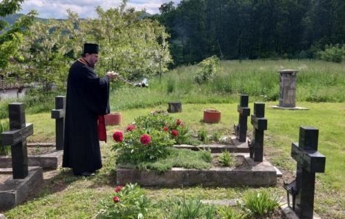 Помен на монашком гробљу манастира Жича (10.05.2019)