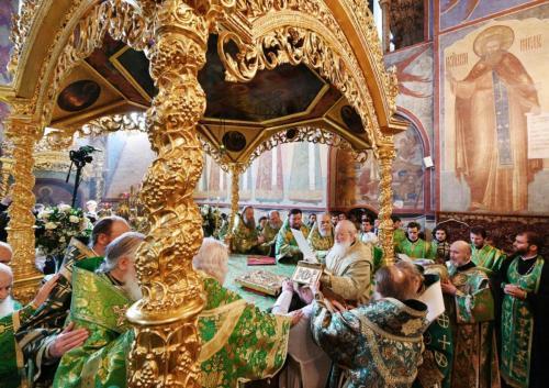 Празник Преподобног Сергија у Тројице-Сергијевој лаври (18.07.2019)