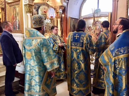 Литругија на празник иконе Богородице Тројеручице (11.07.2018)