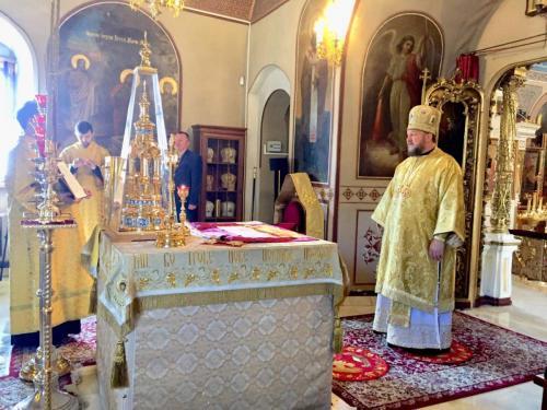 Света Литургија у Осму недељу по Педесетници (10.08.2019)