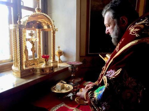 Света Литургија у суботу Светле седмице (04.05.2019)