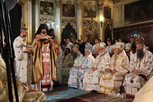 Хиротонија архимандрита Исихија за епископа мохачког