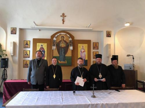 Потписивање уговора са Богословским факултетом у Прешову (07.06.2019)